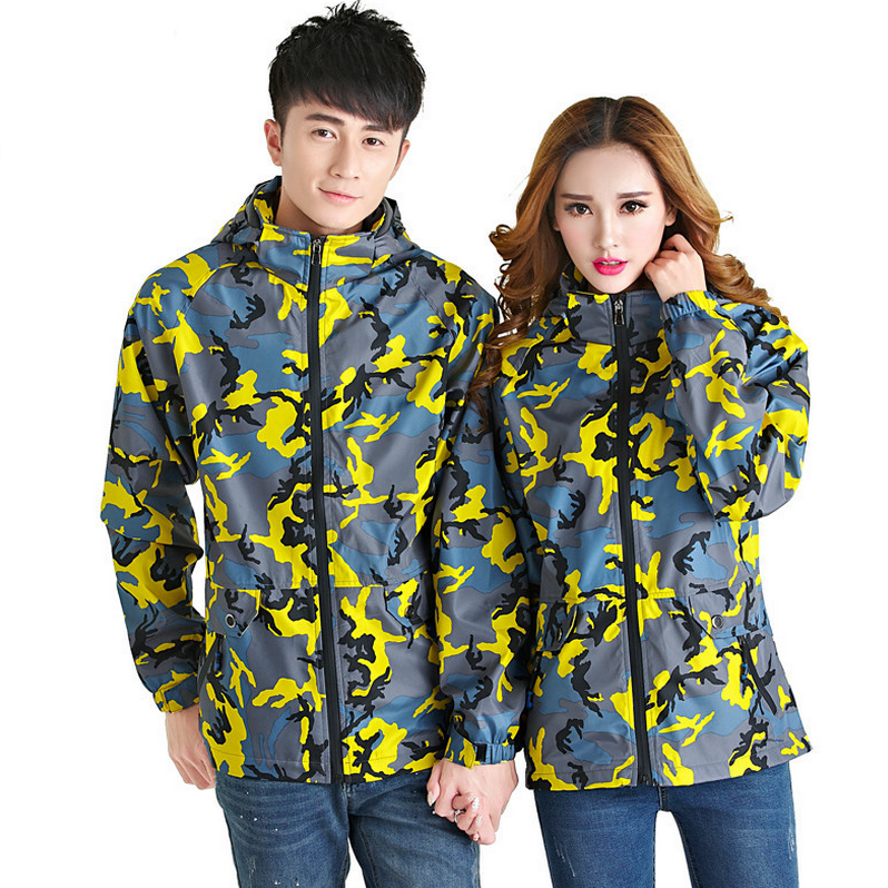 Camouflage Windproof Waterproof Breathable Mountain Clothes Outdoor Hunting Fishing Camping Sport Jacket Women Man Hiking Jacket