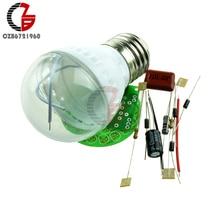 M126 1 комплект энергосберегающий светильник 38 светодиодов лампы DIY наборы электронный набор