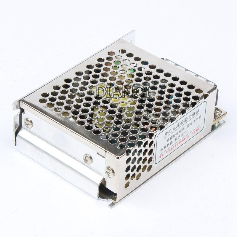 DIANQI switch power supply unit 60W 24V 2.5A power suply 60w 24v mini size din led  ac dc converter ms-60-24 1pcs 60w 12v 5a power supply ac to dc power suply 12v 60w power supply 100 240vac 111 78 36mm