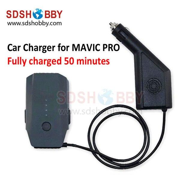Интеллектуальное Зарядное Устройство Автомобильное Зарядное Устройство 6A Выход для DJI MAVIC PRO