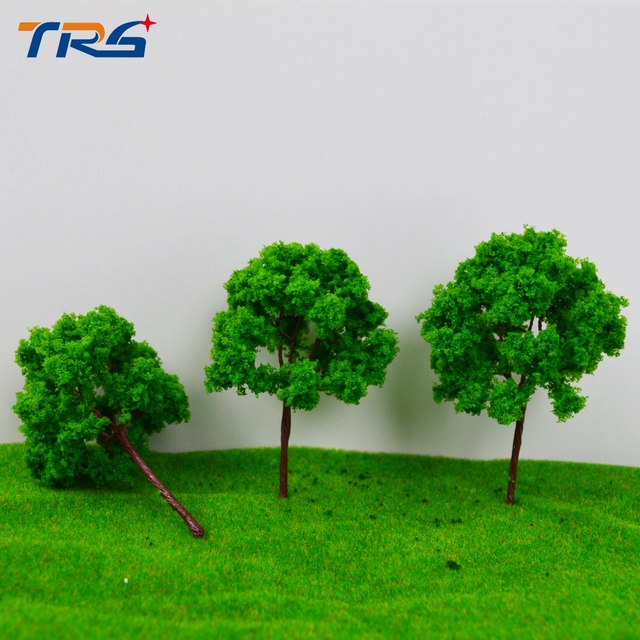 Teraysun 20pcs sand table model building kits material scale tree model miniature model wire tree 9cm