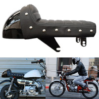 Autoleader 1Pcs Black Durable Motorcycle Retro Hump Cafe Racer Seat Covers for Honda for Z series for Monkey Z50 Z50J Z50A Z50R