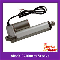 Electric linear actuator 12V 24V dc motor 200mm stroke linear motion controller 100/250/350/450/600/750/900/1000/1200N