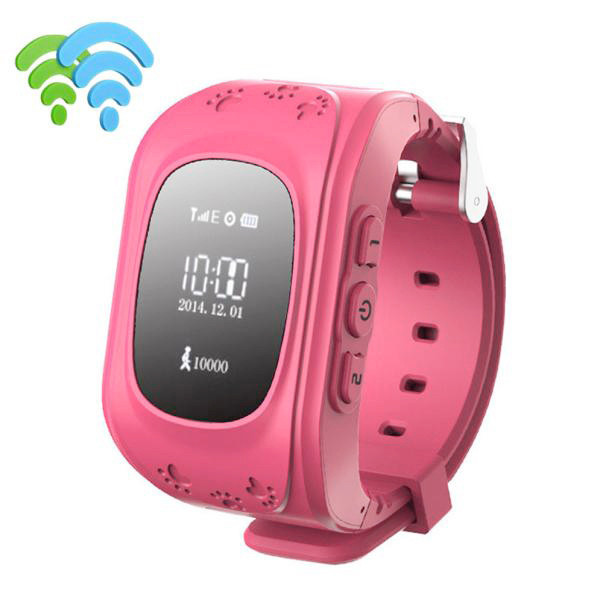 Anti-lost Children Smart Watch GPS Positioning Bluetooth Wrist Watch For Android  new design hot sale 2017 spring Dec16