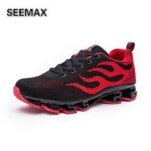 New Men's Running Shoes Outdoor Air Gym Trainer Sport Run Athletic Men Jogging Shoes Lightweight Breathable Walking Sneakers