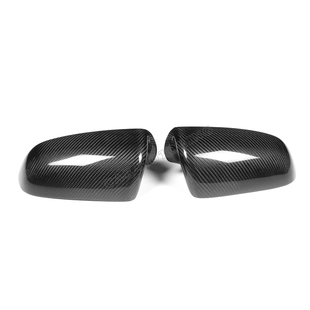 carbon fiber wing mirror cover car rearview side mirror caps for Audi A4 B7 06-08 2pcs carbon fiber rearview mirror cover for audi a4 b8 2013 2015