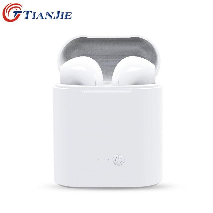 TianJie i7s TWS/Mini/Wireless/Bluetooth auriculares auricular auriculares para Ios Android aire vainas pk Xiaomi AirDots i10 i11 i13