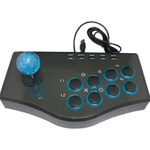 USB Rocker Game Controller Fighting Stick Arcade Joystick Gamepad For PS3/PC For Android Plug And Play Street Fighting Feeling