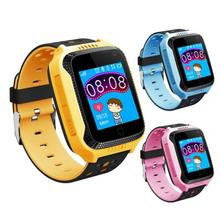 1Pcs 1.44 inch Touch Screen Kids GPS Watch Phone with Camera Monitoring Positioning Watch With 3G SIM Card Inserted Watch Phone