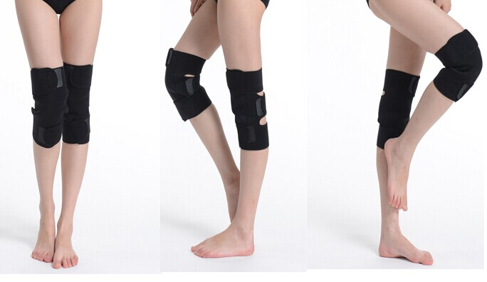 50 Paare/paket Turmalin gürtel selbsterhitzung kniepolster Magnetfeldtherapie kniebandage turmalin heizung Gürtel Massage knie - 4