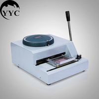 70 Code Character Letters Embossing Machine Embosser Manual Pvc Card Printing C0260 Tool Parts
