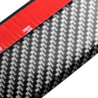 High QualityRubber Soft Black Bumper Strip Car 60mm Width 2 5m Length Exterior Front Bumper Lip