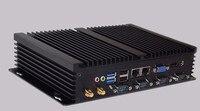 Продвижение промышленный компьютер Intel Core i7 3537u Mini PC Windows 10 ТВ Box HDMI VGA Dual LAN 4 RS232 8 USB Widnows XP прочный ПК