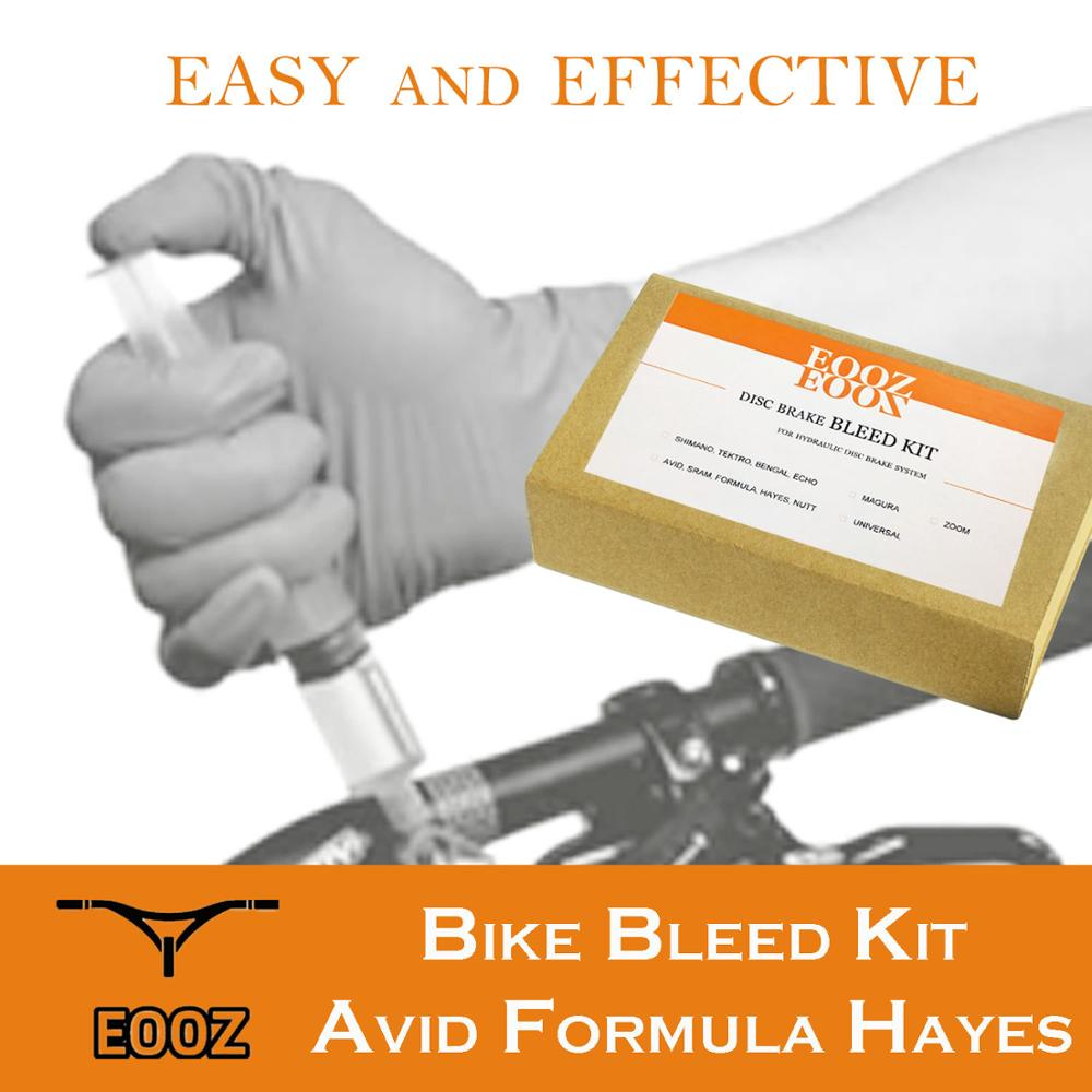 Bicycle Hydraulic Disc Brake Bleed Kit For SRAM AVID Formula HAYES