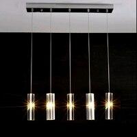 Висячие столовая светильник светодиодный подвесные светильники Современные Кухня лампы Обеденный стол освещение для столовой дома подвес