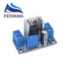 100 Uds LM317 regulador de tensión regulable fuente de alimentación convertidor de DC DC Módulo de placa de circuito reductor regulador lineal