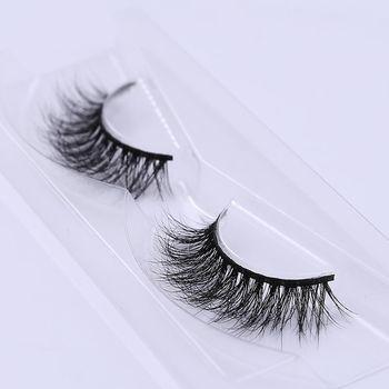 1 Pair Beauty Handmde Natural Soft Stylish 3D Mink Cross False Eyelashes Extension Messy Eyelashes Makeup Tools False Eyelashes