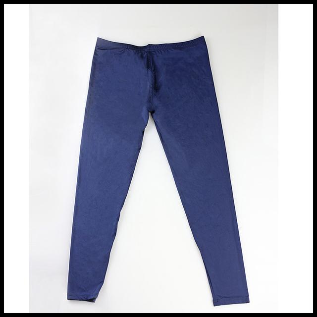Man Underwear/Male Sexy Ice Silk Transparent Pajama Bottoms/Gay Sexy Mesh Sheer Lounge Pants/Sleepwear
