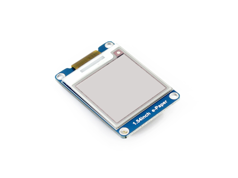 Image 2 - 1.54inch e Paper Module (B) E Ink Display Module 200x200 Red Black White Three color SPI No Backlight Ultra low consumption-in Demo Board from Computer & Office