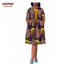 2017african style dress for women traditional african clothing new cotton fabrics robe africaine bazin riche maxi A722532