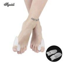 Tignish 1 Par Toe Separator Hallux Valgus Thumb Ortopediska Bromsar För Korrigering Orthotics Daily Silicone Toe Big Bone