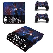 Game Dauntless PS4 Slim Skin Sticker For PlayStation 4 Console and Controller For Dualshock PS4 Slim Sticker Decal