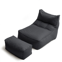 Bean Bag Sofa For Adults Baby Lazy Lounger Chair Sofa Reading Chair Floor Seat Bag Puff Chair Living Room Furniture Beanbag Bed