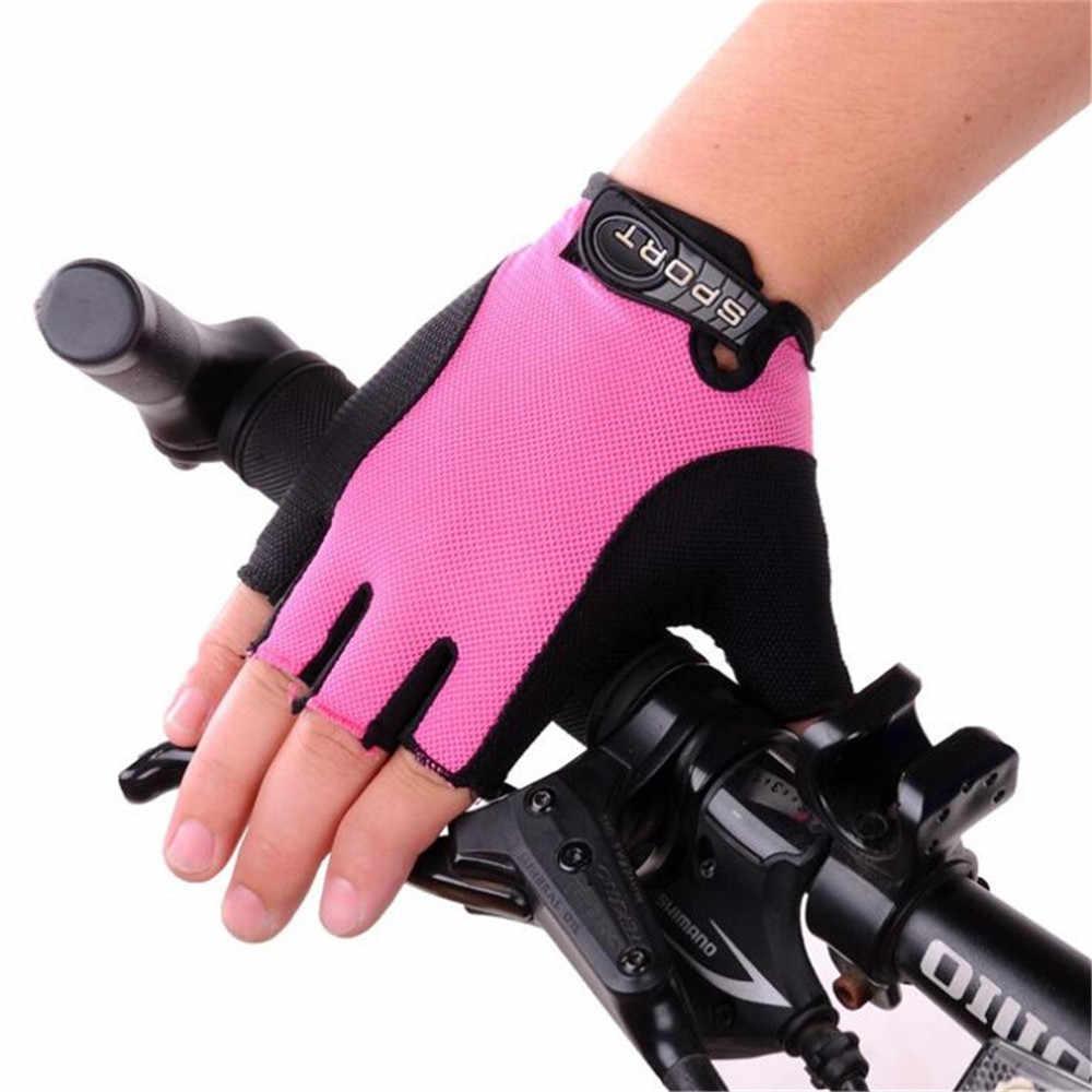 LOHOTEK Guantes de Bicicleta Ciclismo-Motocicleta de MTB Transpirable-Antideslizante Sin-Dedos Guante Hombres Mujeres Prueba de Golpes con Dise/ño Antideslizante Pantalla T/áctil