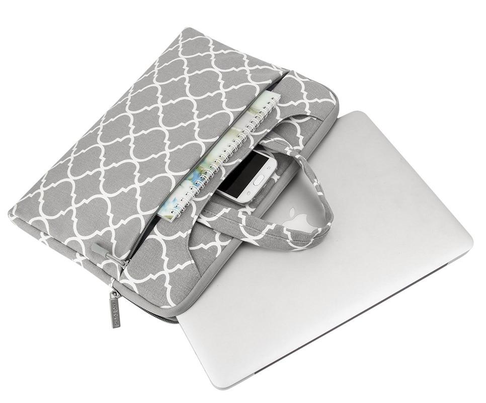MOSISO Canvas 11.6 13.3 15.6 tolline sülearvuti õlakott Macbook Pro - Sülearvutite tarvikud - Foto 4