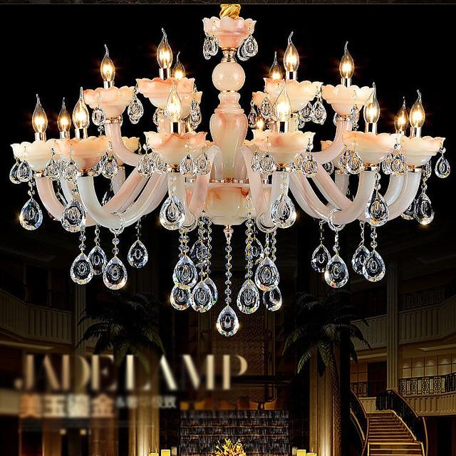 Minimalist luxury european chandeliers living room bedroom luxury minimalist luxury european chandeliers living room bedroom luxury villa new restaurant jade crystal chandelier aloadofball Gallery