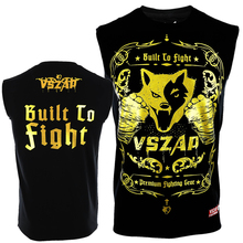 VSZAP Golden Boxing T Shirt Men Cheap Mens MMA Clothing Breathable Cotton Shorts Fight Muay Thai MMA Kickboxi Gym Tee Shirt