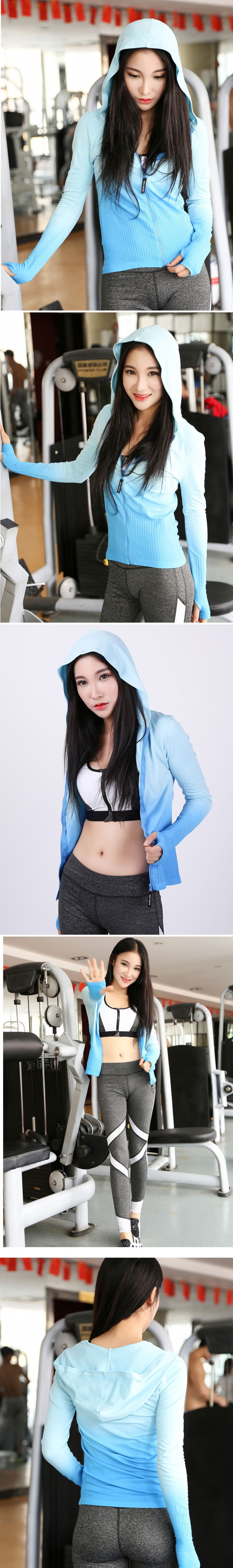 Женские толстовки для спортивных тренировок, одежда для фитнеса, толстовки, женские спортивные футболки с капюшоном, пальто, куртка для бега, V94