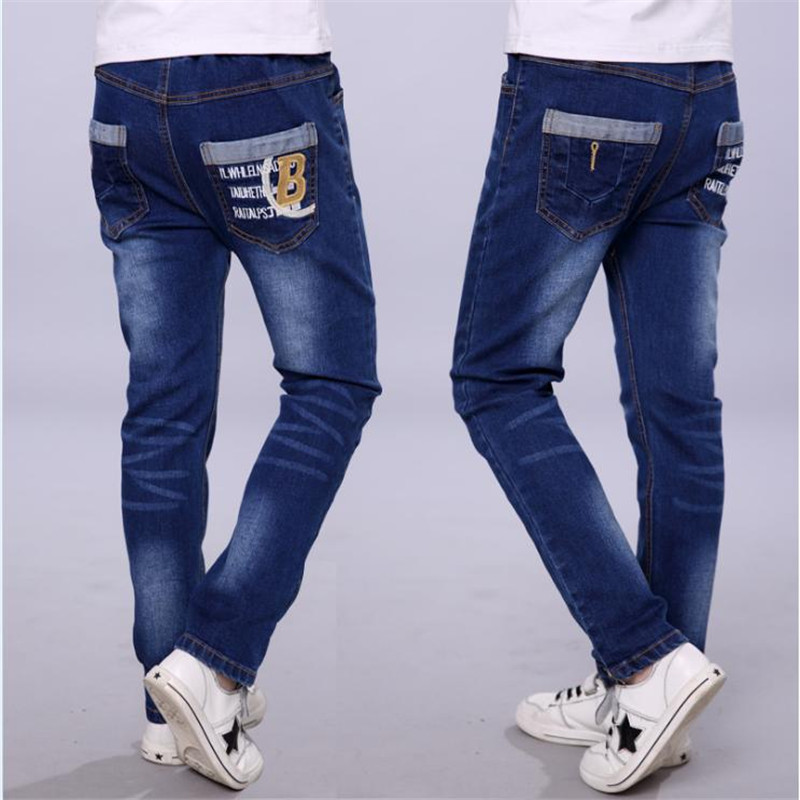Boys jeans 2018 new tide big children casual trousers baby stretch single pants children pants spring and autumnBoys jeans 2018 new tide big children casual trousers baby stretch single pants children pants spring and autumn