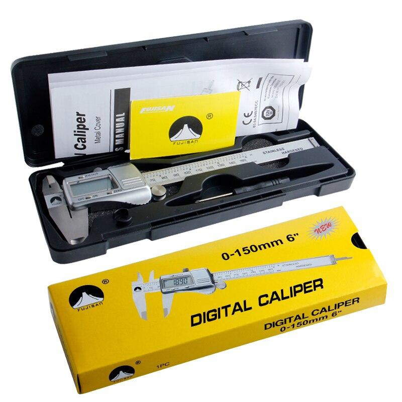 FUJISAN digitális Vernier féknyereg 0-150 mm / 0,01 rozsdamentes - Mérőműszerek - Fénykép 6