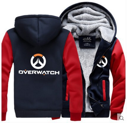 watch pioneer Wei clothing coat men and women Genji with winter clothing thickened Wei jiarong blizzard game around