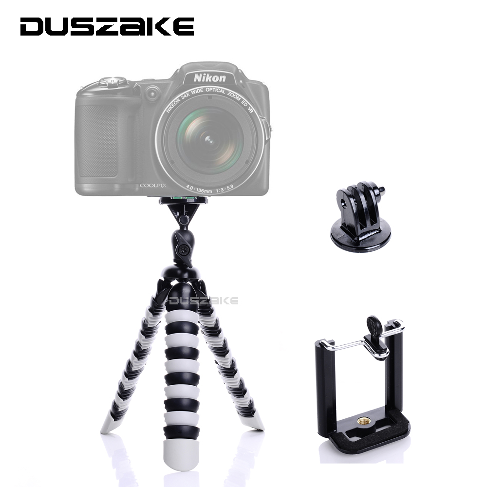 Mini Flexible Octopus Mobile Tripod 2 in 1 Gorillapod 11 for iPhone GoPro Canon Nikon Sony