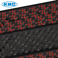 KMC X11SL DLC Superlight Diamond Like Coating 11s 11 Black Color Speed Bike Chains