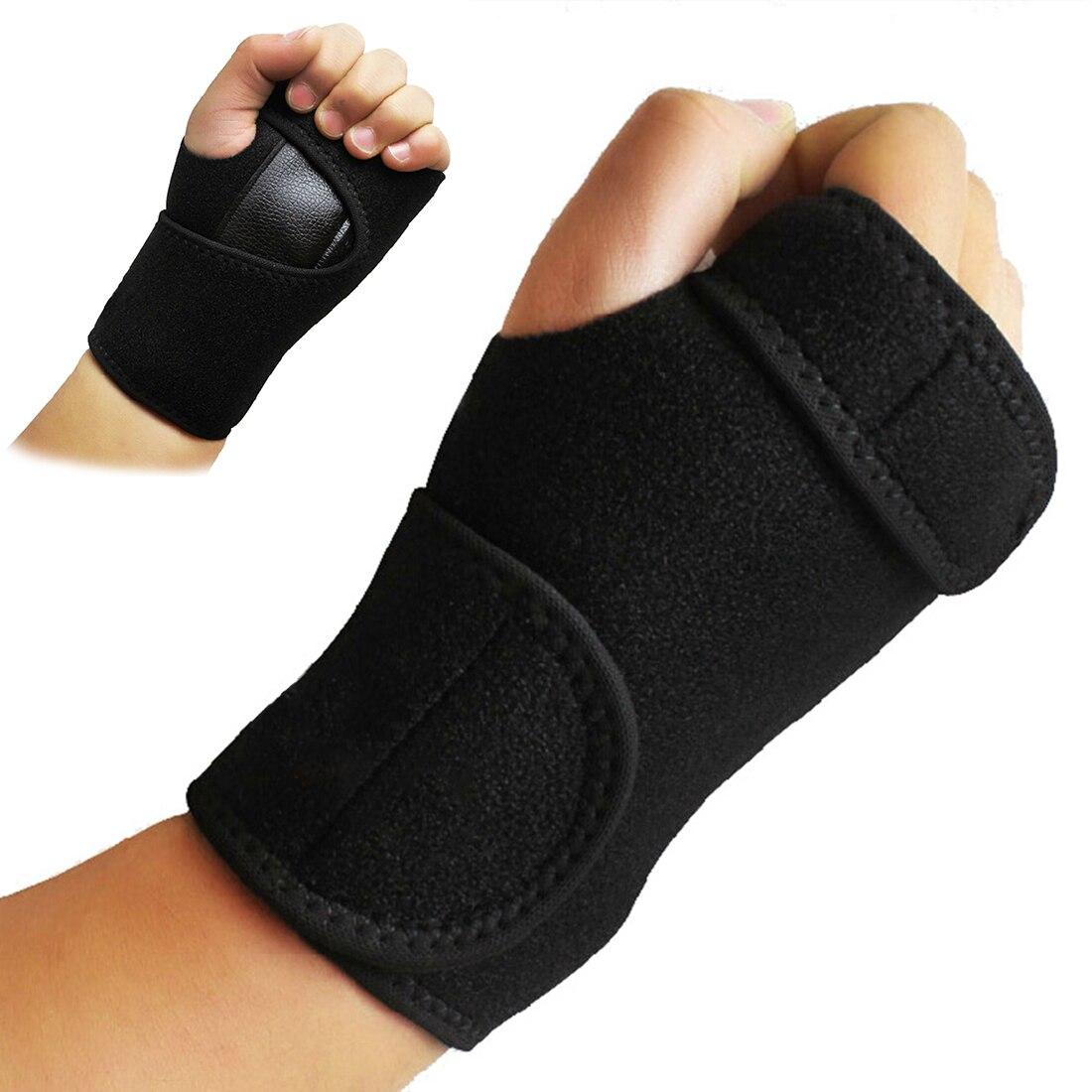 Wristband New Bandage Orthopedic Hand Brace Wrist Support Finger Splint Carpal Tunnel Syndrome