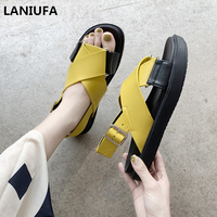 78bfabace2 New Summer Flats Sandals Women Casual Shoes Open Toe Gladiator Casual Women  Sandals Rome Sandals Shoes