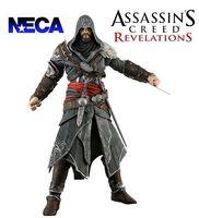 משלוח חינם 7 inch neca assassins creed 3 אציו אלטאיר דור hartel pvc פעולה דמויות דגם אוסף צעצוע