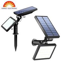 2 PZ 48 LED Luce Solare Esterna Giardino Luminoso Eccellente A Duplice uso Luce di Inondazione solare Street Sentiero Prato Luce Solare Lampada Da Parete impermeabile