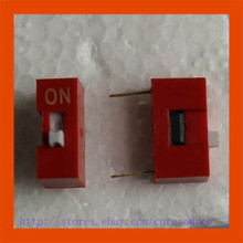 цена на New 5 x 1 Positions DIP Switch Red 1P