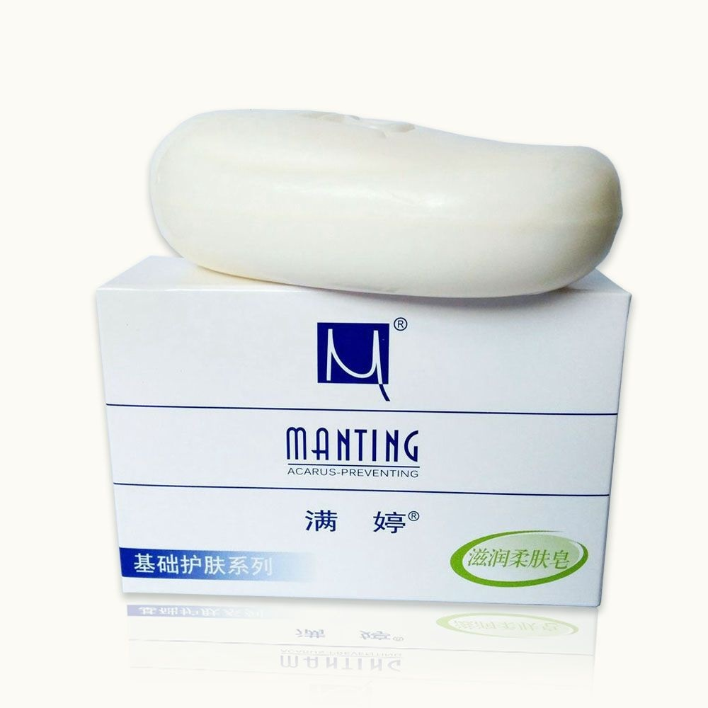 1 Pcs  Mites Acarus Acari Bacteria Removing Body Face Skin Oil Control Fresh Clean Soap Acne Care Soap Herbal Ingredien