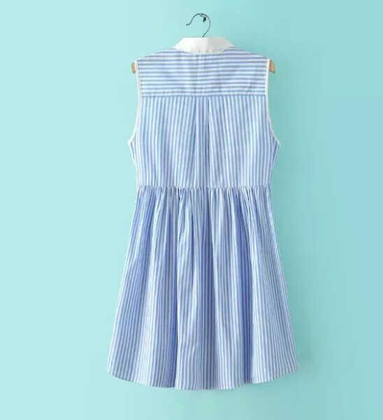 Модное женское элегантное кружевное платье в полоску с принтом, сексуальное винтажное безрукавный Повседневный узкий Брендовое платье QZ1943