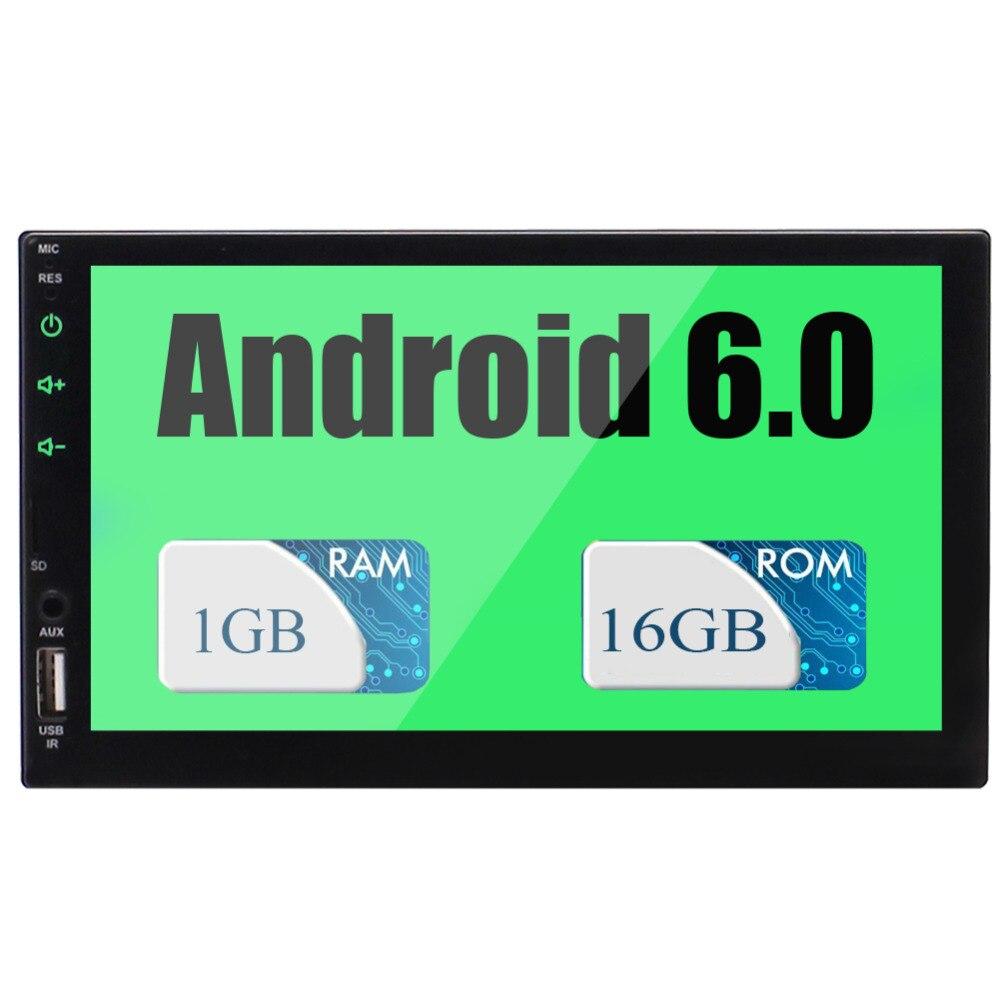 Dans le tableau de bord GPS Navigation Bluetooth FM/AM/RDS Wifi Quad-core lumières colorées personnalisé papier peint Support OBD mis à niveau Android 6.0