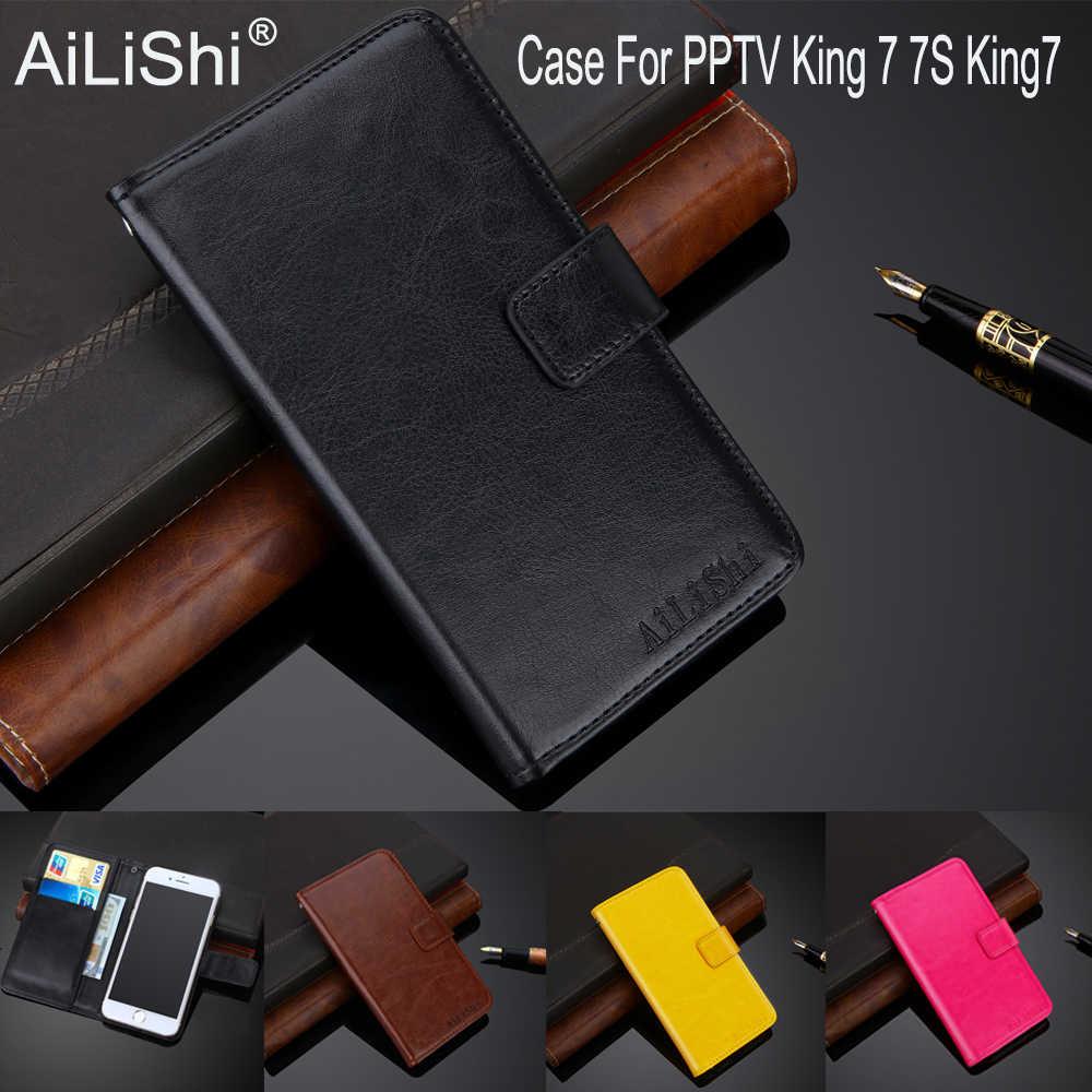 AiLiShi 100% Эксклюзивный чехол для PPTV King 7 7 S King7 PU кожаный чехол флип Высокое качество Чехол кошелек для телефона держатель + отслеживание