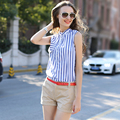 Veri Gude Summer Style Fashion Shorts Solid Color Cotton Shorts