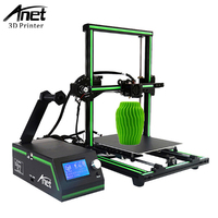 Anet E10 3D Printer High Precison Green Metal Frame DIY Kit 12864 LCD Screen Aluminum Alloy