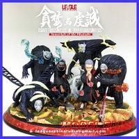 MODEL FANS INSTOCK NARUTO LEAGUE Akatsuki covetousness & religiousness Hidan and Kakuzu gk resin statue figure for collection