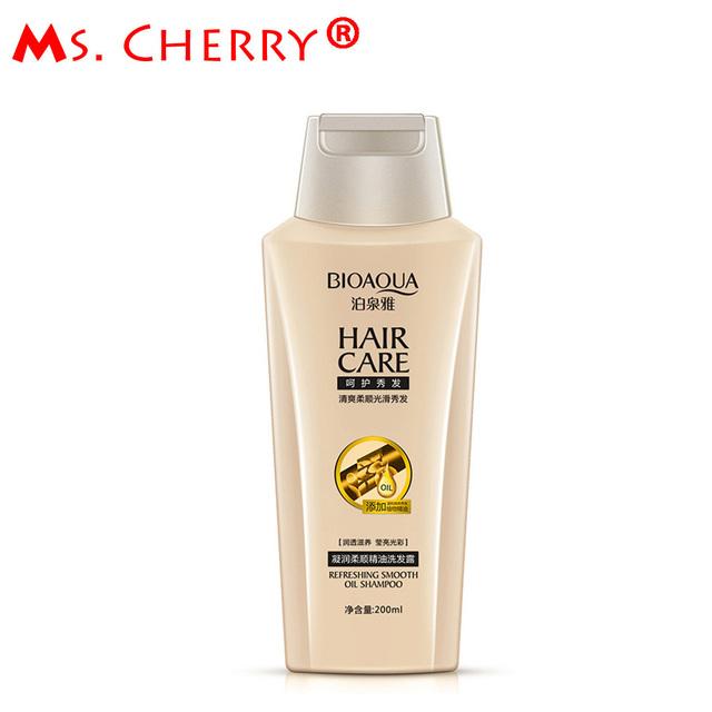 200 ml New Hair champú suave champú de aceite esencial hidratante cabello brillo Enhancing champús cuidado del cabello PH031